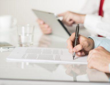 juridisch advies contract ondertekenen
