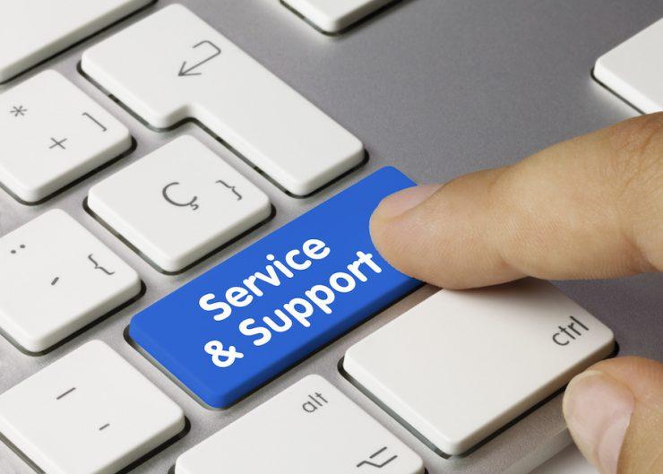 Service en support digtaal steunpunt
